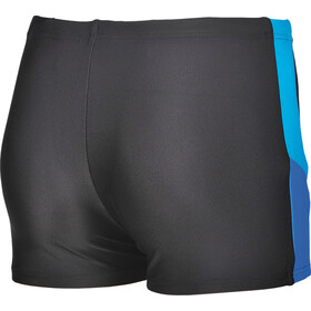 arena Ren Shorts Jungs black-pix blue-turquoise